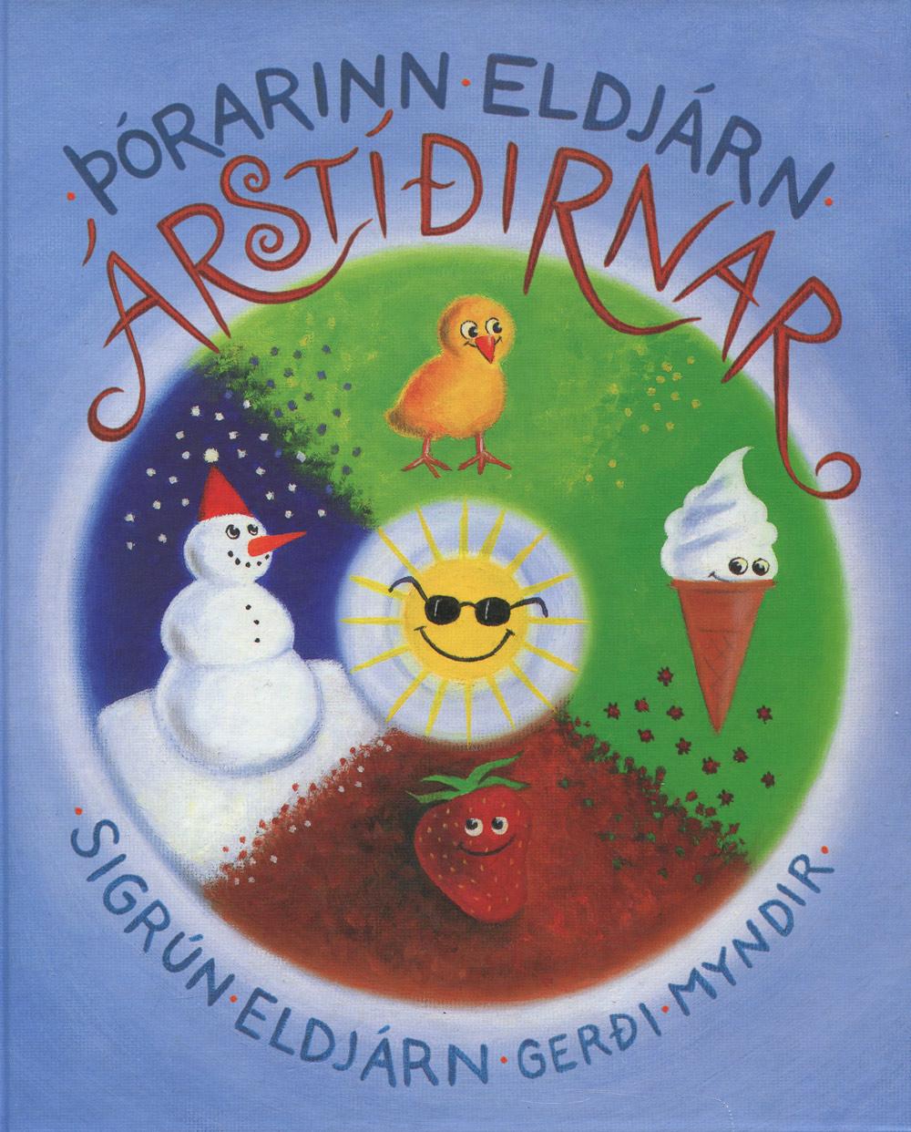 Árstíðirnar (2010) kápumynd